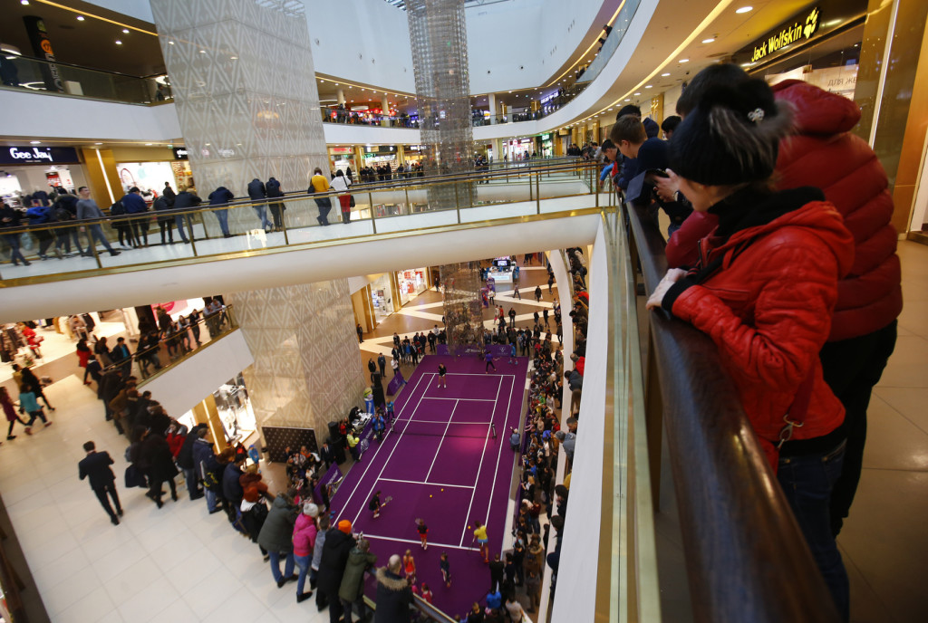 St.Peterburg ladies trophy 2016. Master-class shopping mall Gallery.
