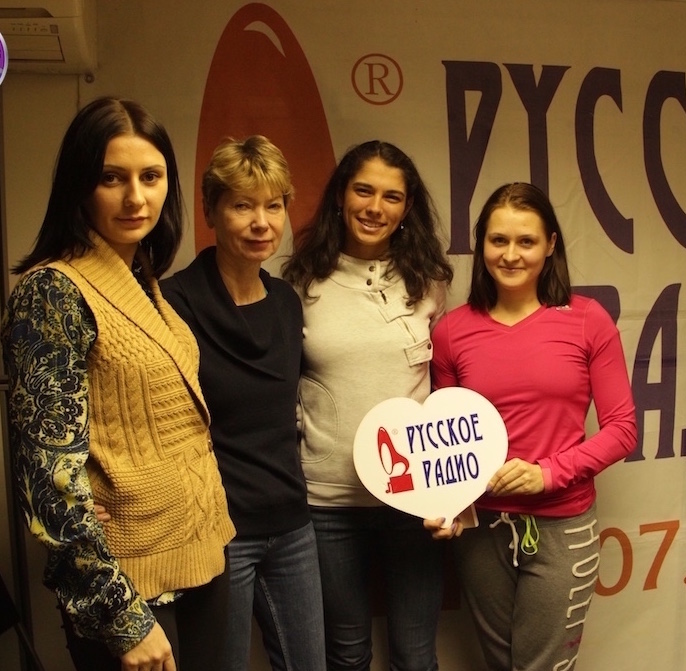 St. Petersburg Ladies Trophy as guest on Russian Radio