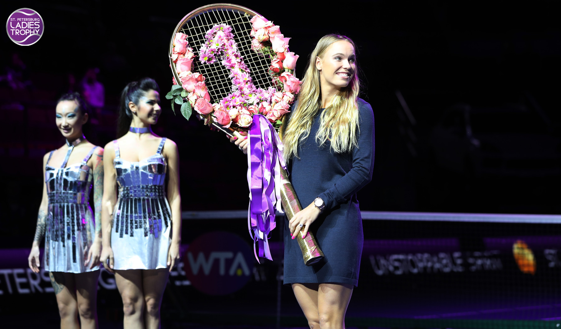 Caroline Wozniacki at St.Petersburg Ladies Trophy