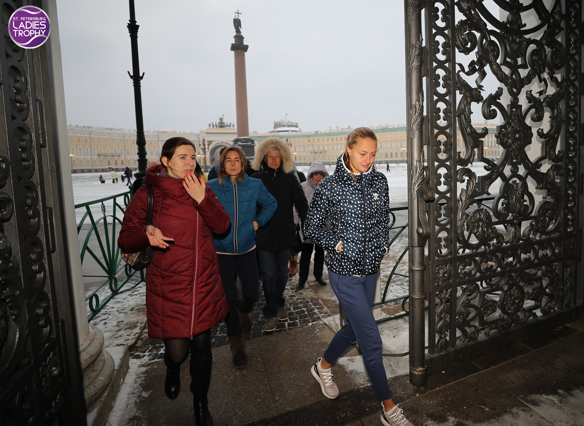 Excursion to Hermitage Museum 30.01.2018