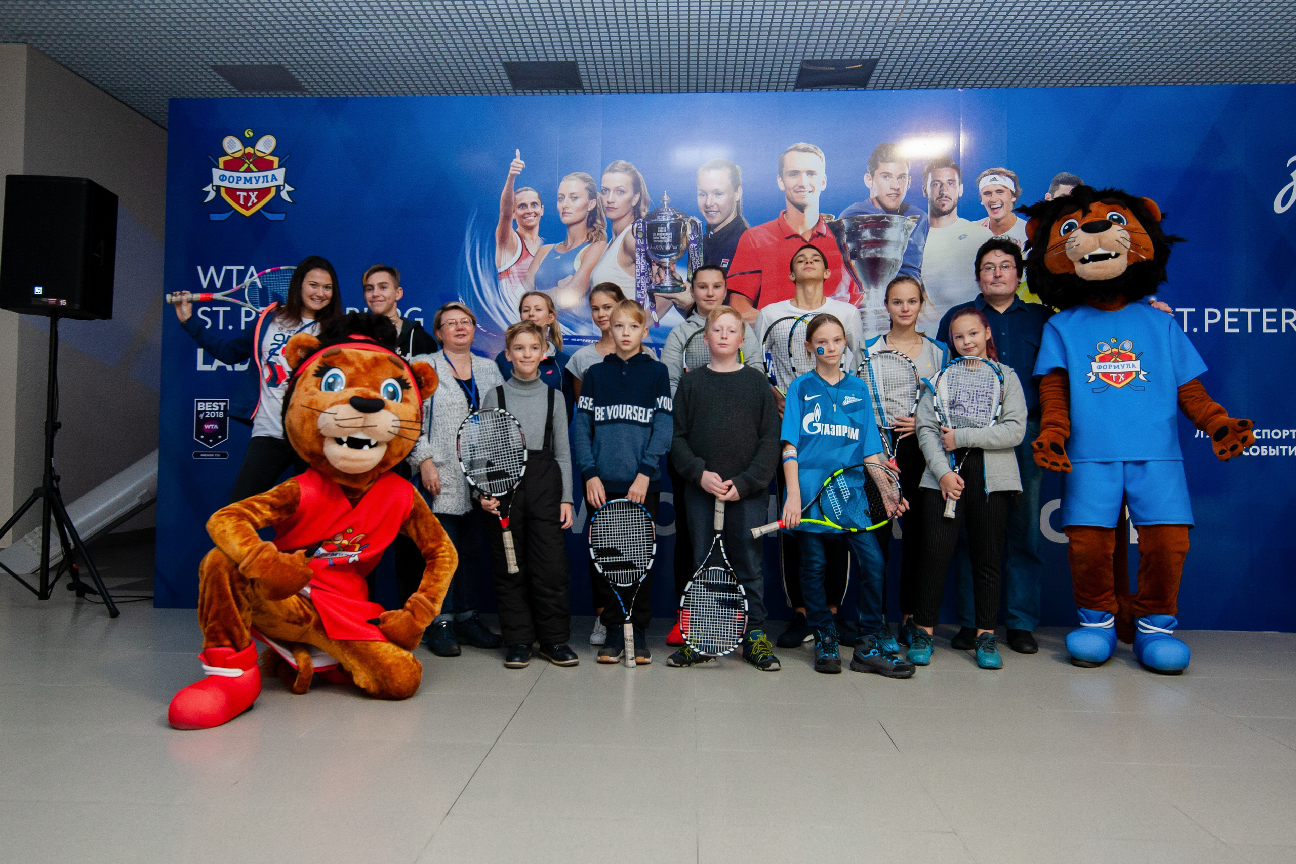 Workshop Gazprom Arena, 30.10